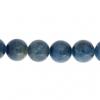 Blue Apatite 8mm Round 21pcs Approx